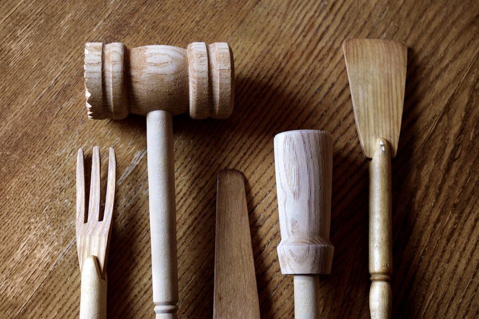 Cocina Utensilios De Madera · Foto gratis en Pixabay