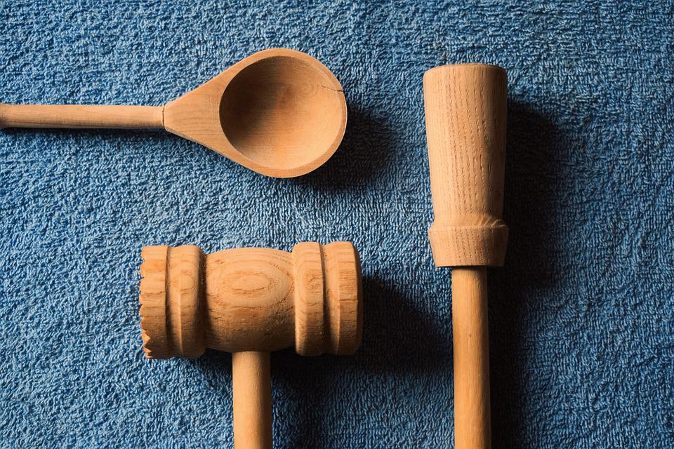 Kitchen Utensils Wooden Free Photo On Pixabay
