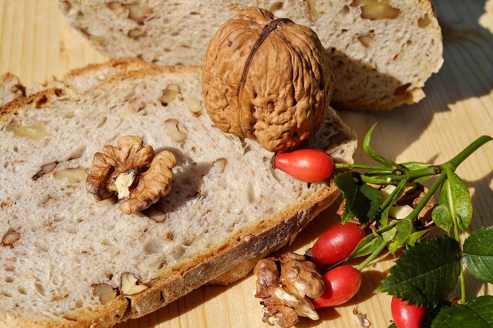 パン, パンナット, くるみパン, 栄養, ベジタリアン, 食物繊維, 食品, ナッツ, ナット, 天然産物