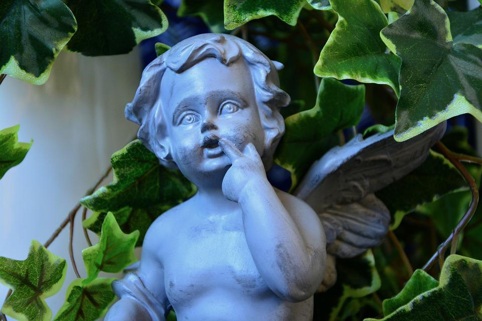 Statue Angel Resin Decorative · Free photo on Pixabay