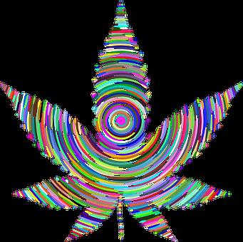 Marijuana, Pot, Weed, Colorful