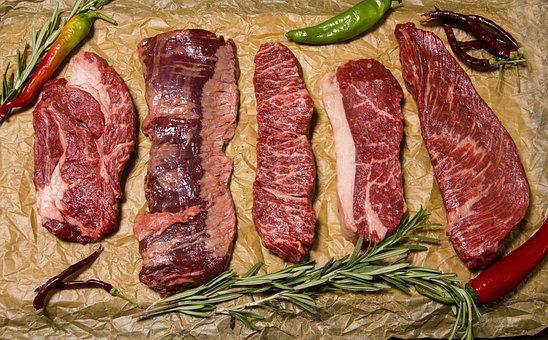 Carne, Carne De Vaca, Alimentos, Filete