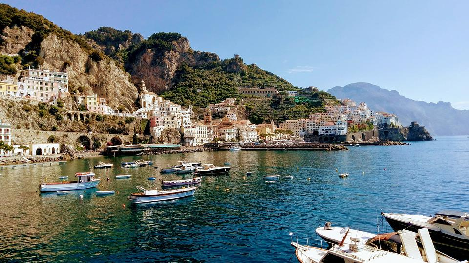 Amalfi, Italy, Summer, Vacation, Mediterranean, Coast