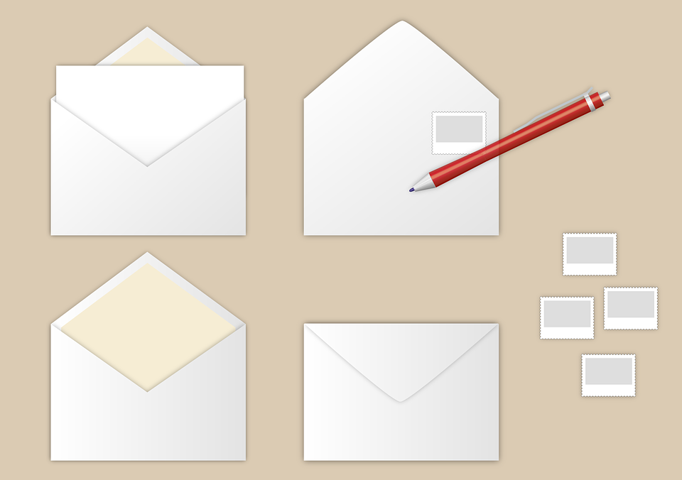 Letters Write Envelope - Free vector graphic on Pixabay