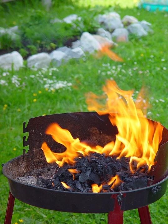 Feuer Garten Feuerschale Kostenloses Foto Auf Pixabay