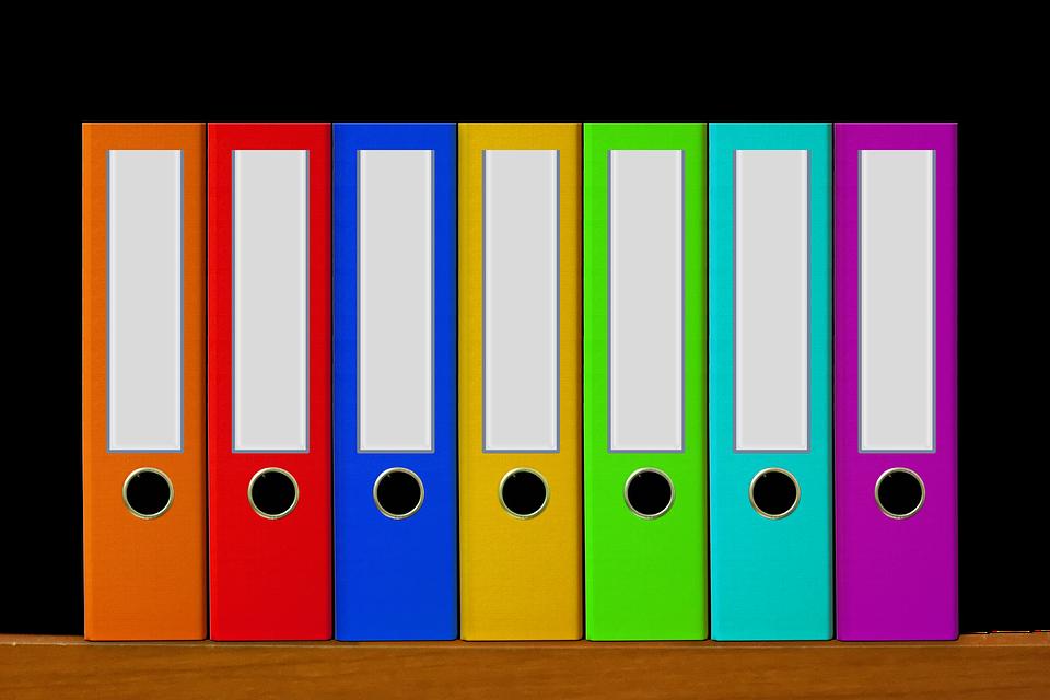 Bureau Fichiers Aktenordner · Image gratuite sur Pixabay