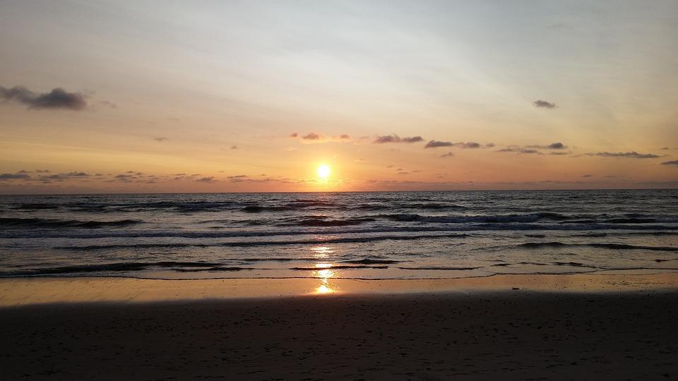 Strand nordsee sonnenuntergang  Kostenloses Foto: Sonnenuntergang, Meer, Strand - Kostenloses Bild ...