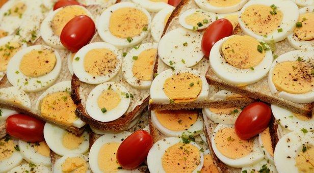卵サンドイッチ, 卵, パン, 卵黄, ゆで卵, パナック, 寒冷バイキング