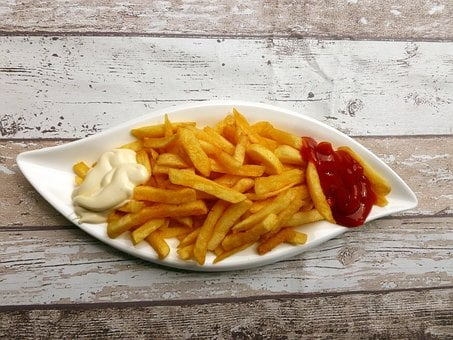 French Fries, Eat, Snack, Fast Food