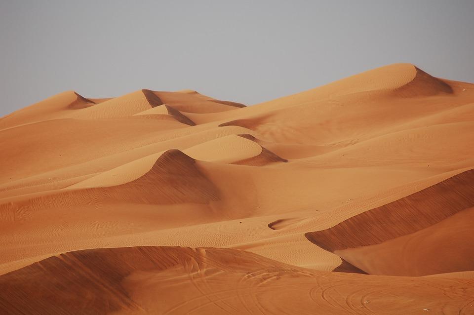 Dubai, Deserto, Sabbia