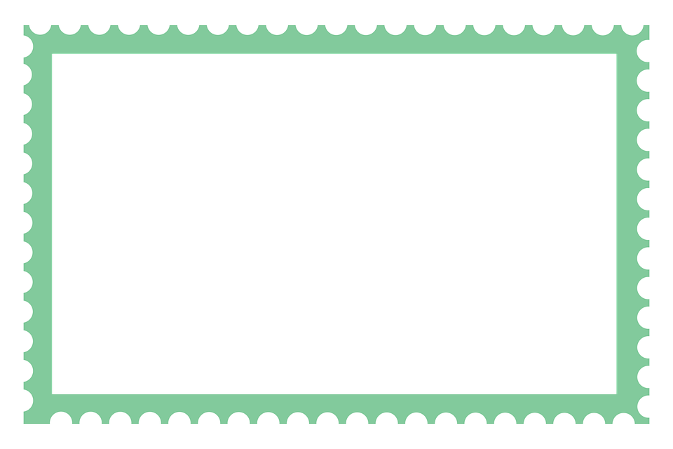 Large Stamp Border Long