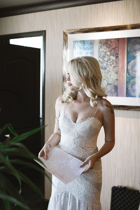 Remarkable, very bride getting ready remarkable, very