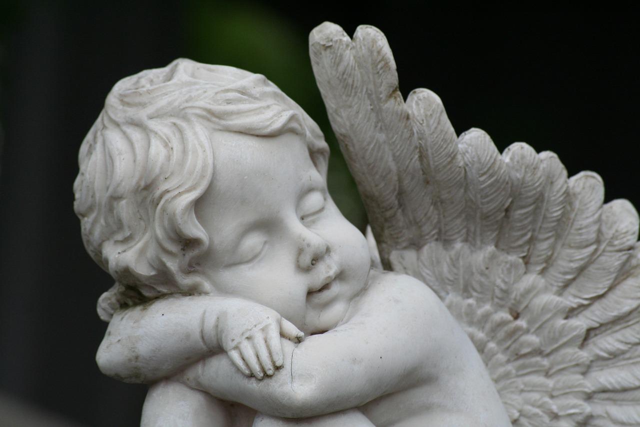 Фото плачущего ангела