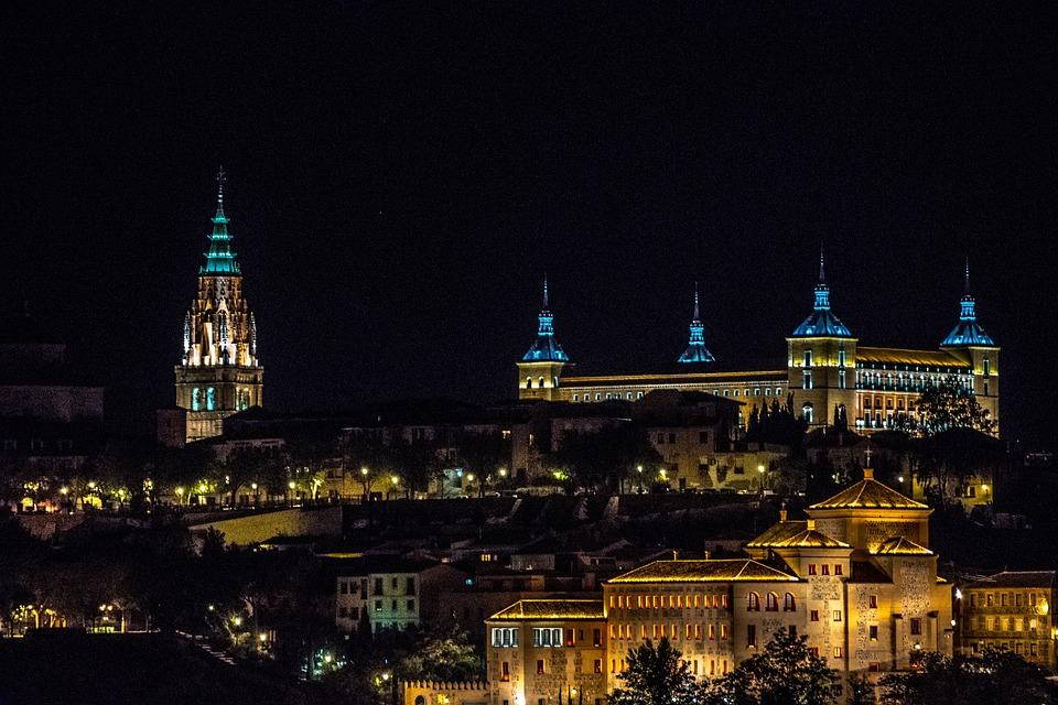 Toledo, Noche, Paisaje