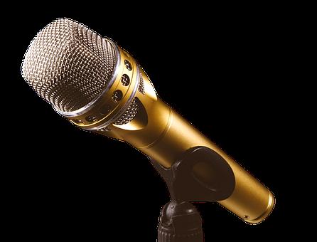 Micrófono, Música, Cantar, Hablar