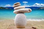 kamienie, zen, biały