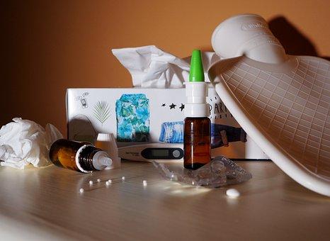 Grippe, Schnupfen, Krankheit, Erkältung