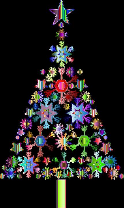Ordinary Jesus And Christmas Trees Part - 11: Snowflakes, Christmas Tree, Jesus, Festive, Holidays