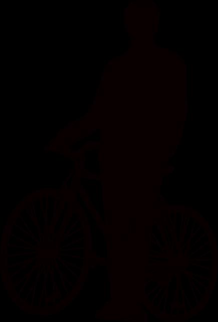 C Language Logo Adam Bisiklet Standı ...