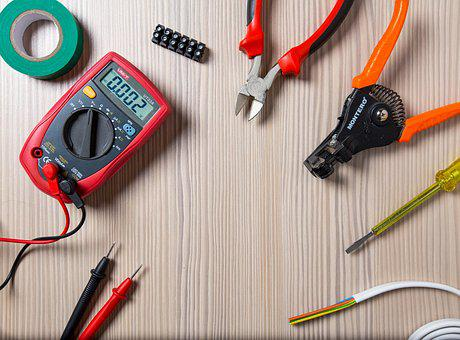 Tool, Work, Repair, Electrician, Tester