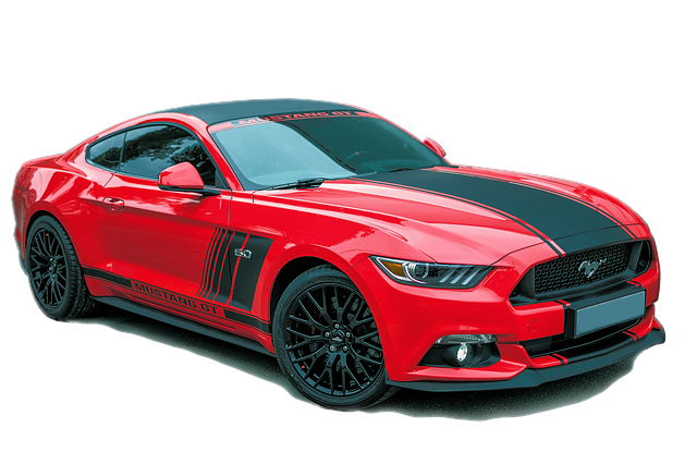 Ford Mustang Red Exempt And Edited · Free photo on Pixabay