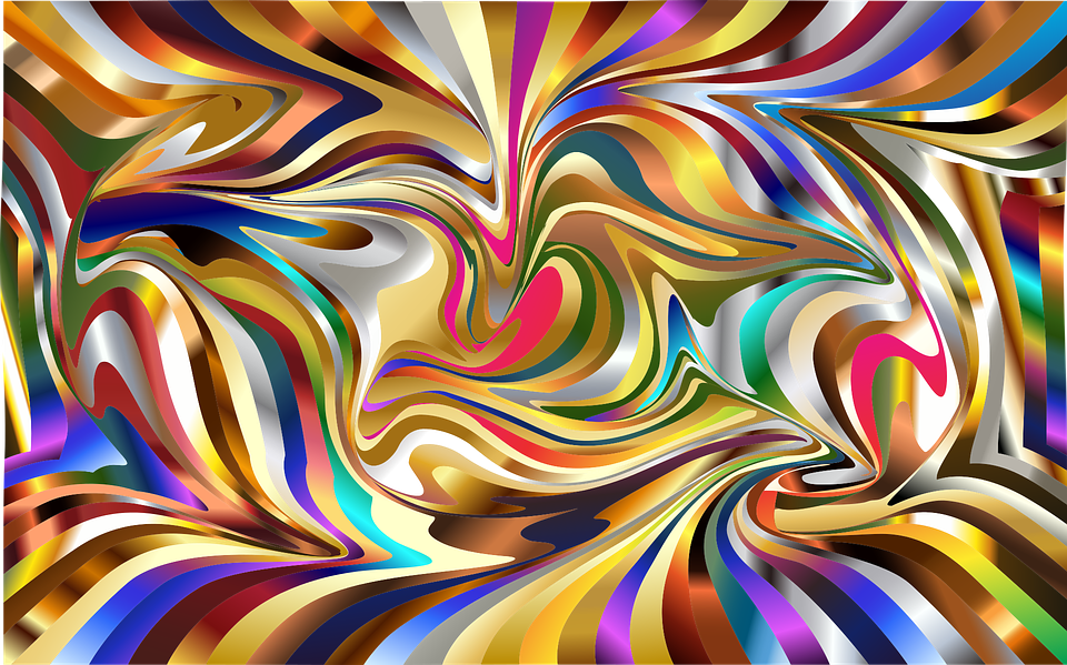 Wallpaper Psychedelic Background · Free Vector Graphic On