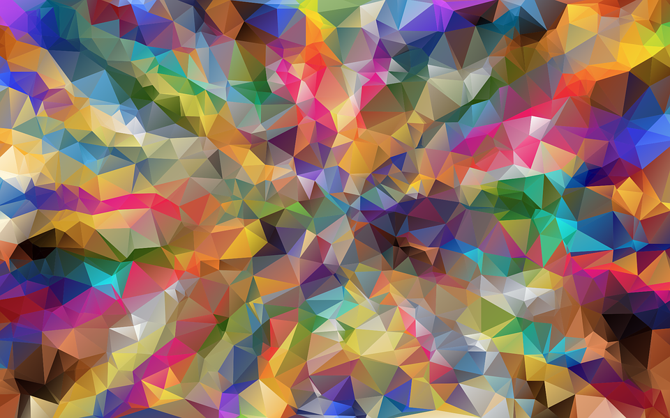 low poly polygon wallpaper background 16x10 ratio