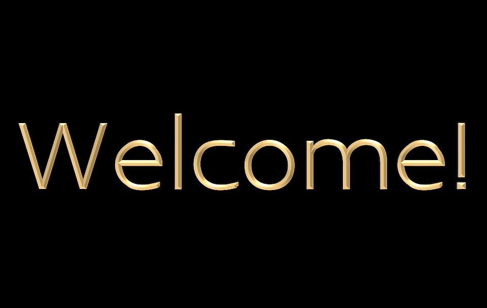 welcome gold elegant free image on pixabay