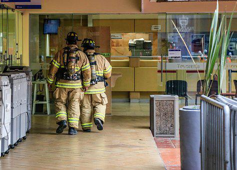 Tijuana, Fireman, Fire, Alarm, Alert