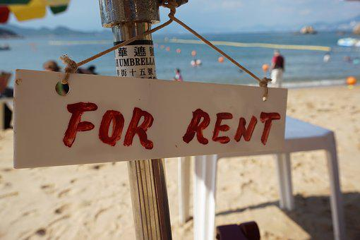 休日, 価格, 香港, 賃貸料のため, ビーチ, 晴れた日, 海辺
