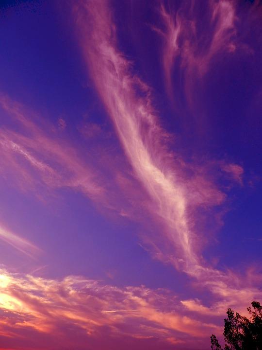 76 Gambar Awan Berwarna Warni HD