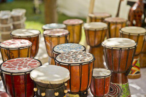 African, Drums, Jazz, Festival, Columbus