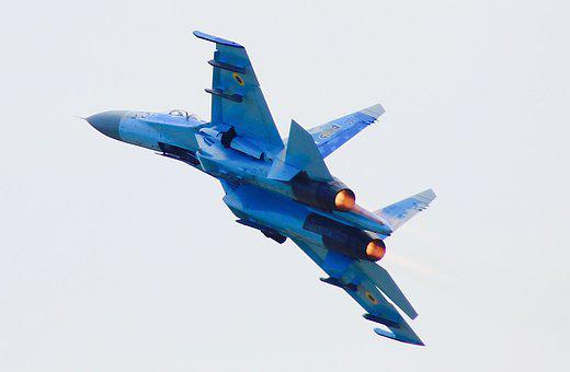 The Plane, Flying, Su27, Speed, Flight