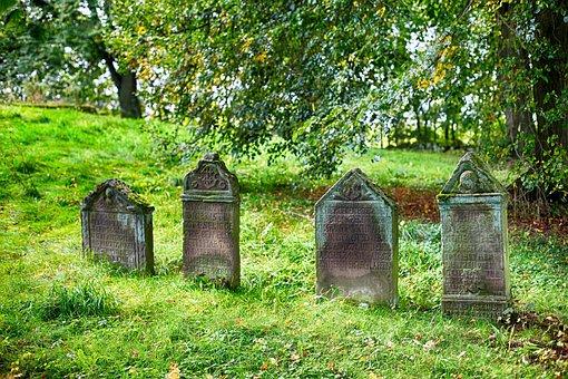 Cementerio, Lápidas, Graves