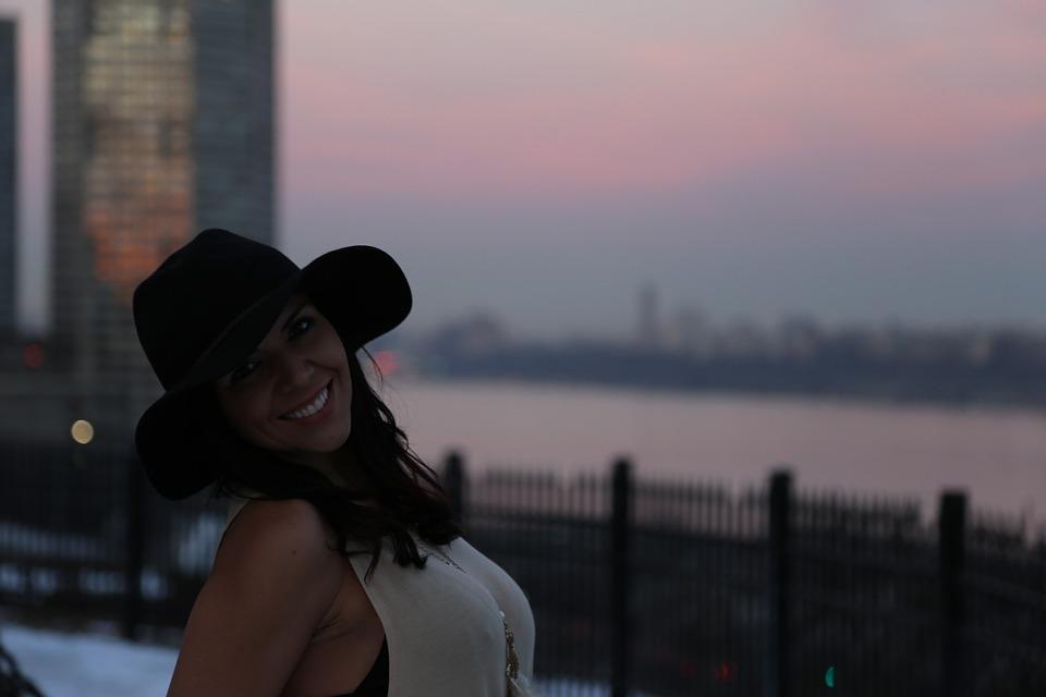 Smile, Woman, Pretty, Bonita, Cute Girl, People