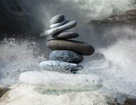 Zen Stones, Stones, Zen, Balance, Rocks