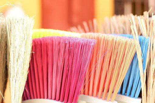 home cleaning brooms