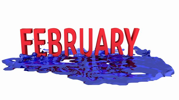 Month, February, Calendar, Monthly