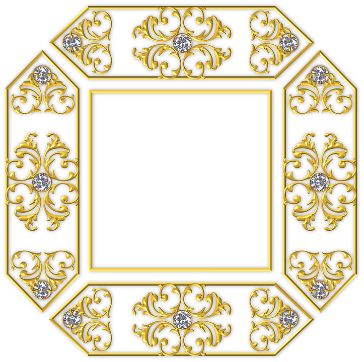 Gold Quadrat Rahmen · Kostenloses Bild auf Pixabay