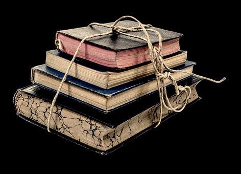 Livro, Velho, Pilha, Pilha, Estante