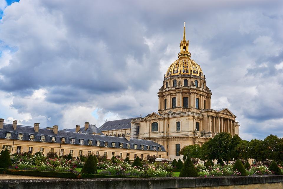 Párizs, Franciaország, Invalidusok, Napóleon