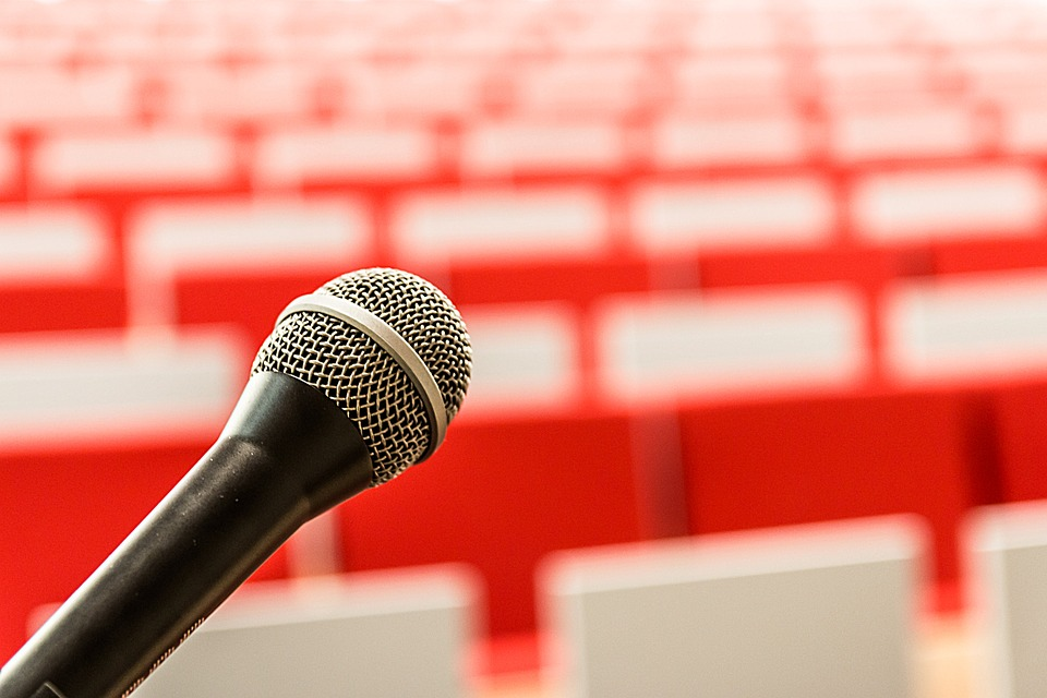 Image result for public speaking pixabay