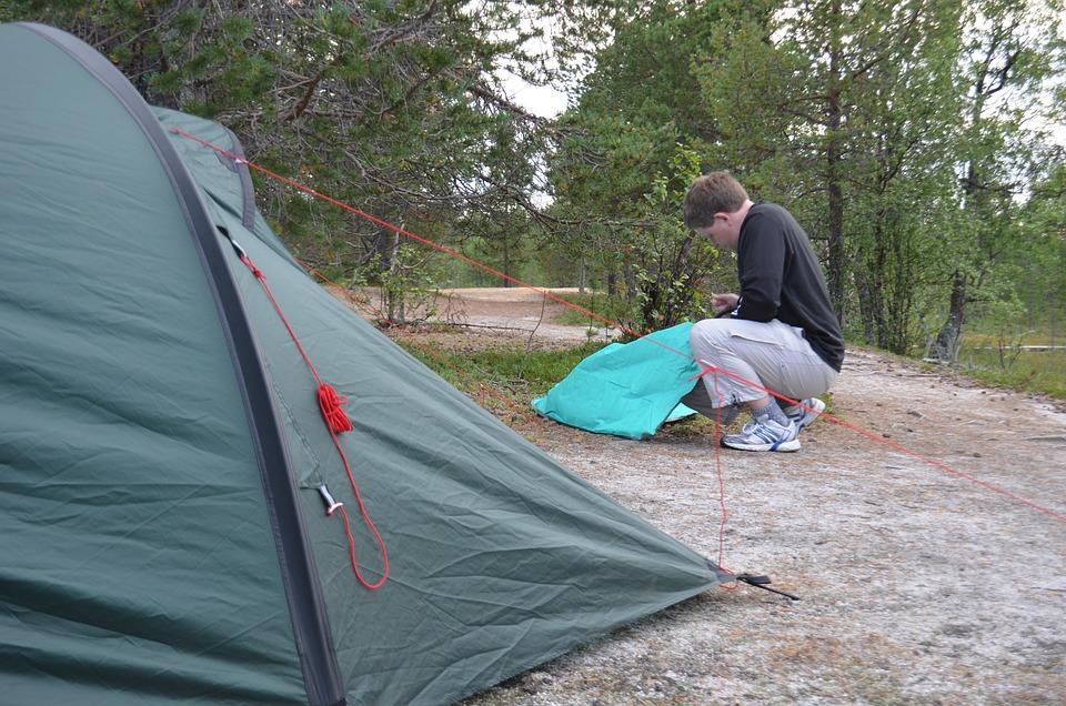 The Path Hetta-Pallas Hike Tent & Free photo: The Path Hetta-Pallas Hike Tent - Free Image on ...