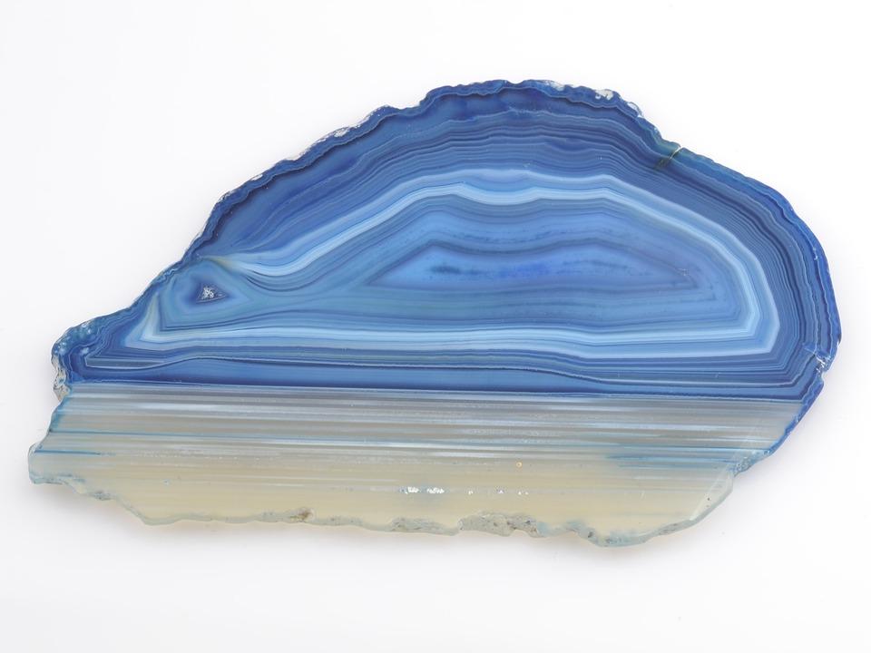 Bien connu Photo gratuite: Pierre Précieuse, Agate, Bleu - Image gratuite sur  CX88