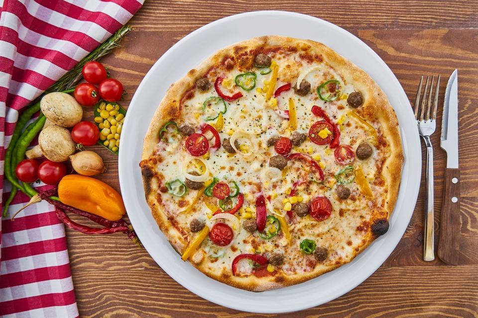 Pizza, Pasta, Cotto, Formaggio, Pomodoro, Fungo, Pepe