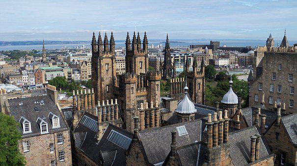 Castle, Edinburgh, Ghosts, Scotland
