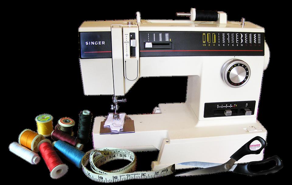 Machine À Coudre, Coton, Équipement, Couture