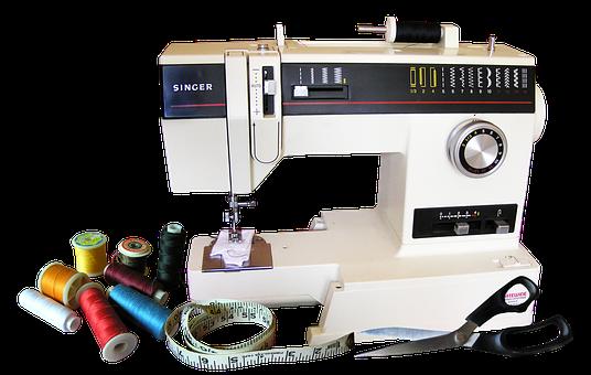 Sewing Machine, Cotton, Equipment