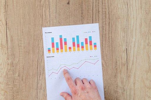 Graphique, Finances, Financiers