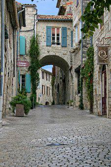 Vézénobre, Gard, Mittelalterliches Dorf
